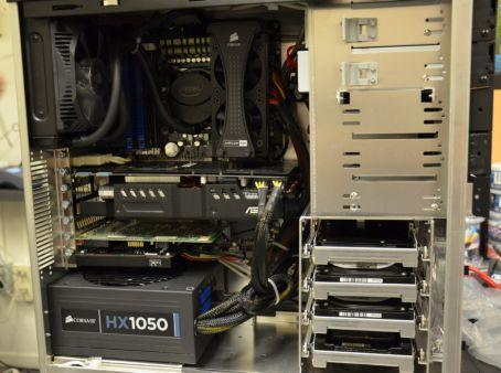 Moederbord, Voeding, CPU en Cooler